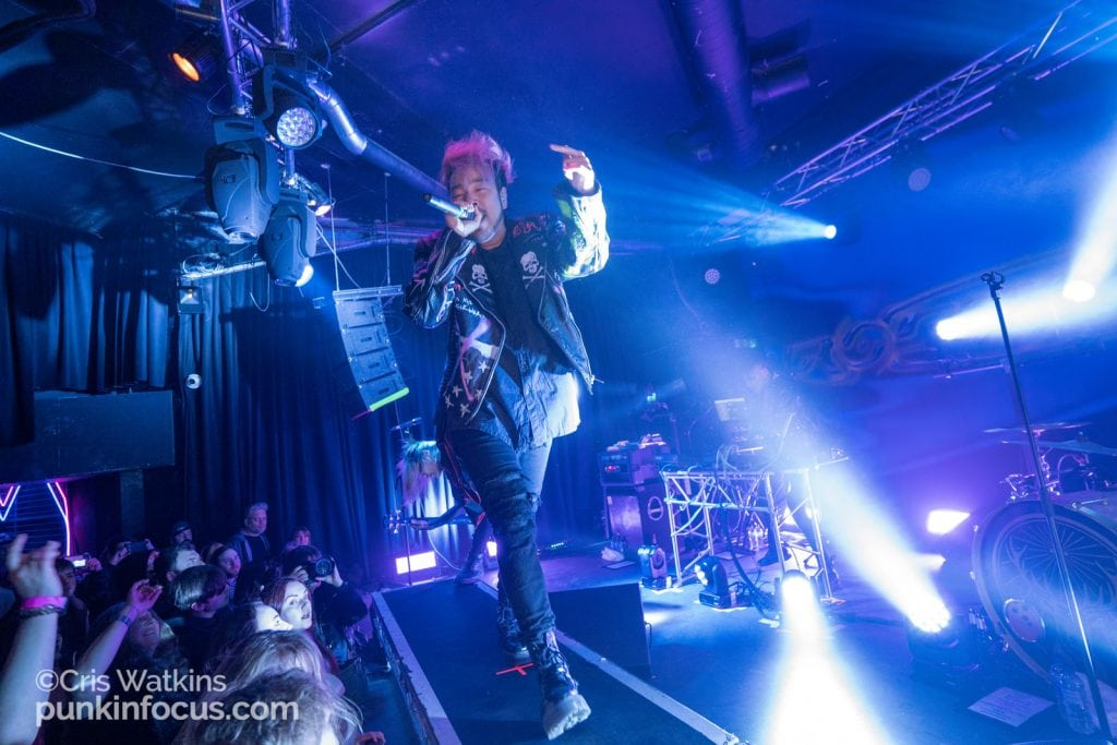 Crossfaith - Chalk, Brighton 3rd March 2020-13