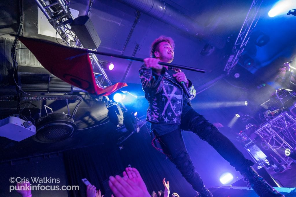 Crossfaith - Chalk, Brighton 3rd March 2020-3
