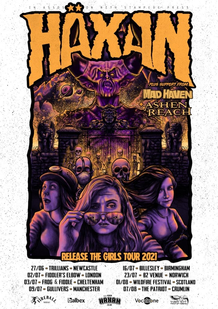 Haxan tour dates