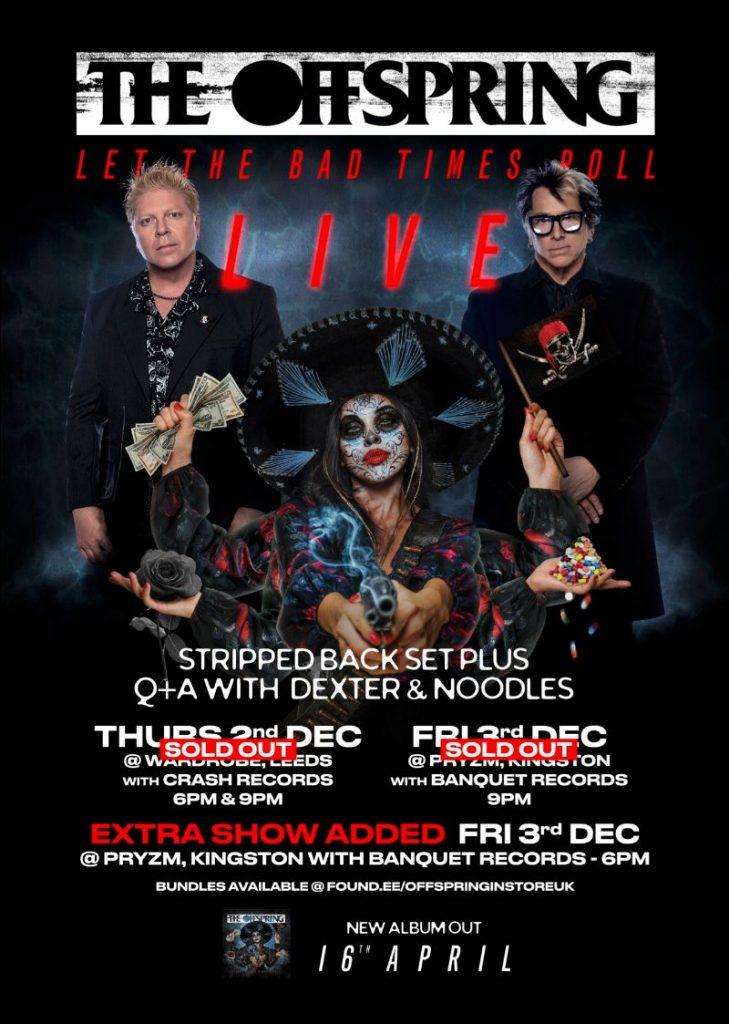 The Offspring tour