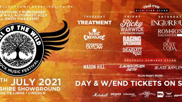 CALL OF THE WILD FESTIVAL LINE UP