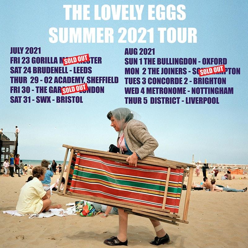 The Lovely Eggs - Summer 2021 Tour