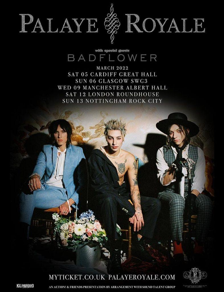 Palaye Royale UK tour dates